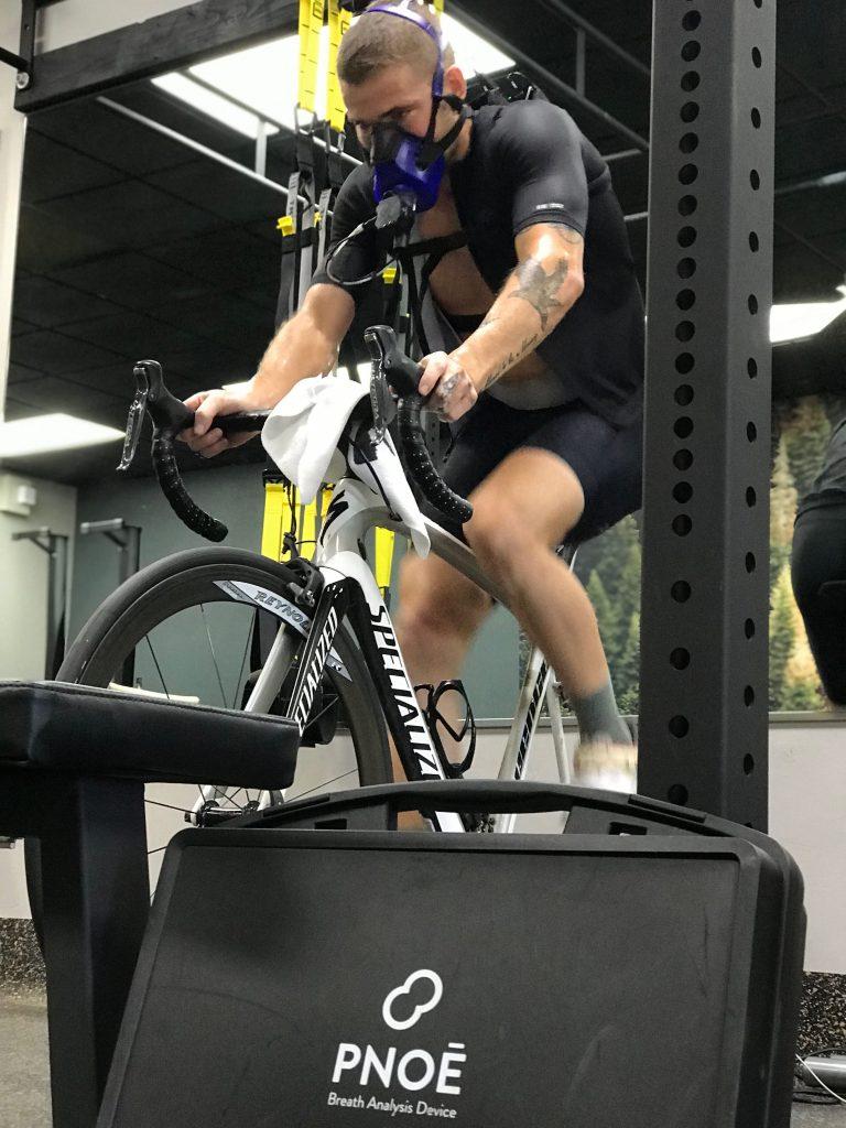 Riding air bike